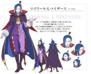 Roswaal L Mathers Character Art