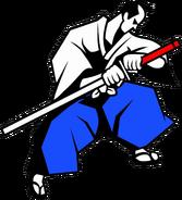 The Wandering Samurai White
