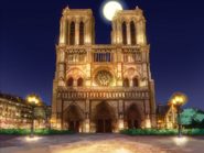 Notre Dame Night