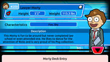Lawyer Morty Deck Entry