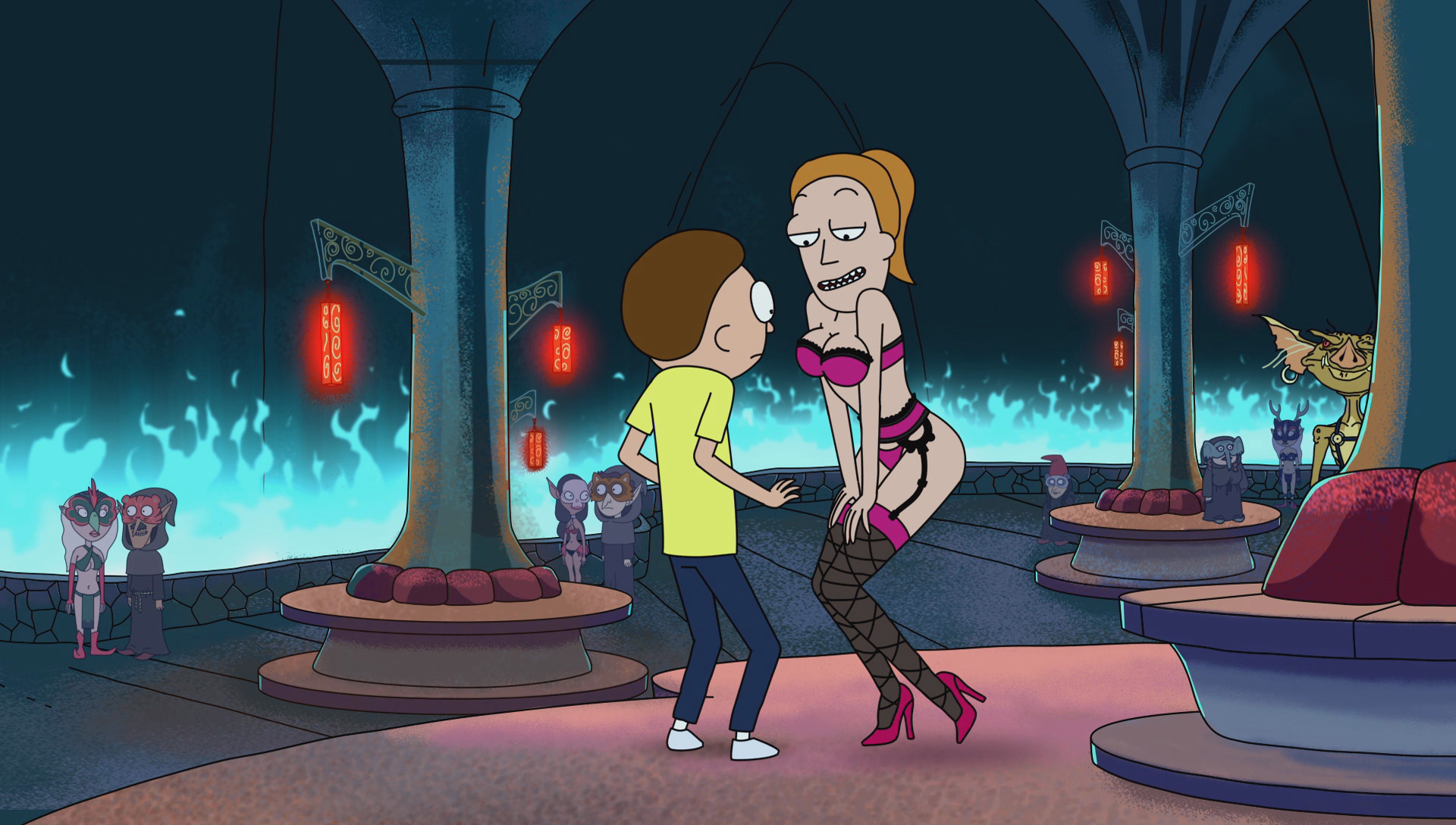 Image - S1E2 Summers Boobspng  Rick And Morty Wiki  Fandom Powered By Wikia-3306