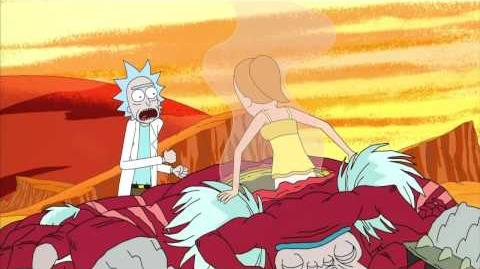 Rick and Morty Adult Swim Promo with Summer Raising Gazorpazorp 720p HD