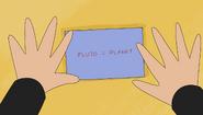 S1e9 pluto equals planet