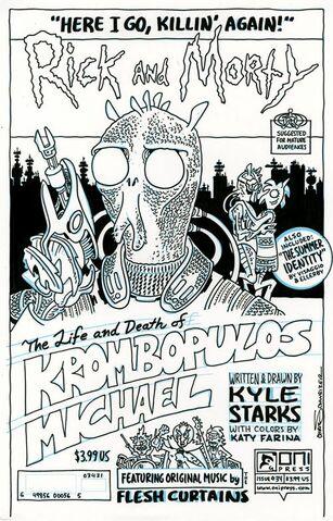 File:Issue 34 Chris Schweizer original ink cover.jpg