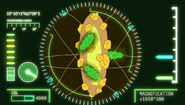 S2e10 molecules on a cob