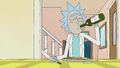 S1e9 rick drinking alone.png