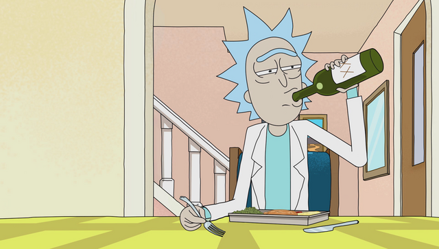 File:S1e9 rick drinking alone.png