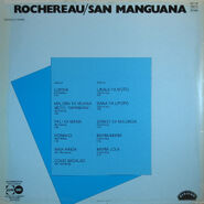 Rochereau-San Manguana, back