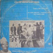 KABAKA INTERNATIONAL GUITAR BAND - ONYE MAM KA NMA TRASERA
