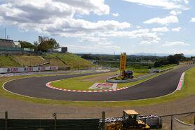 Suzuka Circuit 11th corner Hairpin 2011