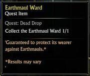 Earthmaul Ward