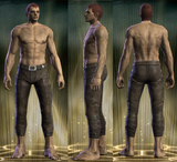 Footpad Legs Male