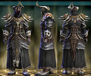 PvP R6 Cloth Set Theurgist Male