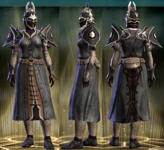 PvP R4 Leather Set Seditionist Female