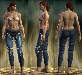 PvP R6 Plate Sentinel Legs Female