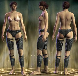Dacia's Legs Female