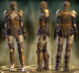 Cavalier's Set Female