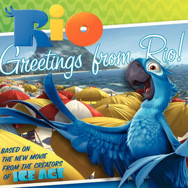 Rio Book Greetings from Rio