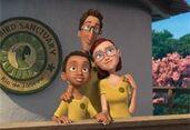 Linda, Tulio and Fernando