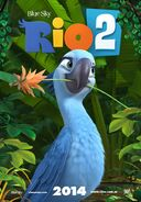 Rio 2 Poster ft Jewel