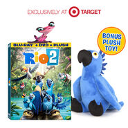 Rio 2 Bluray & plush