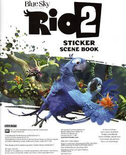 Rio 2 Sticker Scene Book