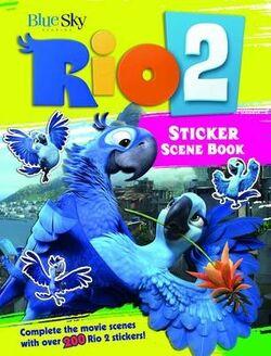 Rio 2 sticker scene book 1