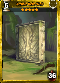 Archaic Relic Wall