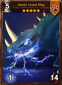 Storm Lizard King