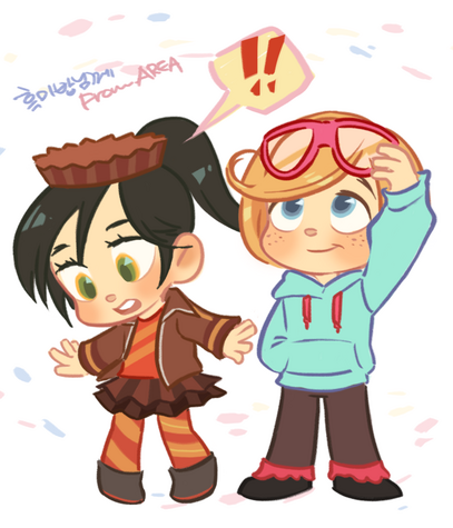 Request event vanellope and rancis by area32-d66e4vf