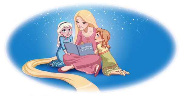 File:Rapunzel and girls.png