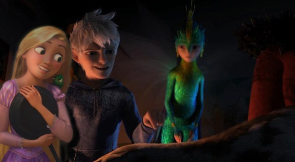 Games jack frost and rapunzel