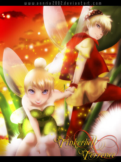 Tinkerbell and terrence by annria2002-d306043