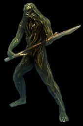 Bog-body w-Spear