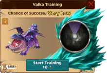 Gothi's Gronckle Valka First Chance
