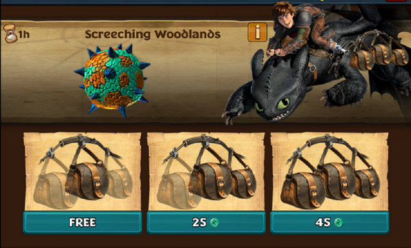 Screeching Woodlands (Snafflefang)