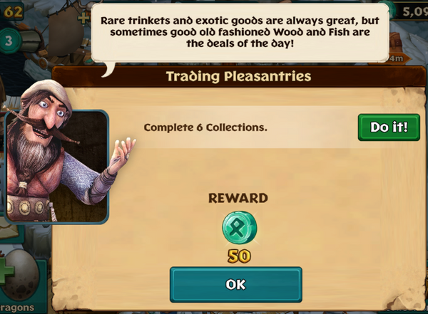 Trading Pleasantries Dec 15