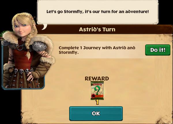Astrid's Turn