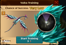 Raincutter Valka First Chance