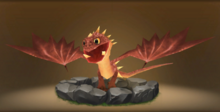 Spitelout's Kingstail Hatchling