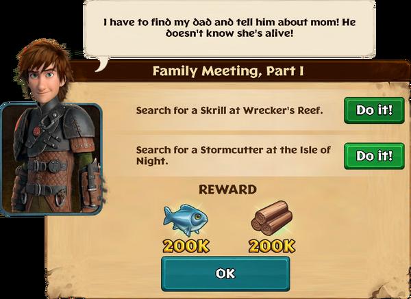 Family Meeting, Part I