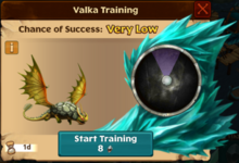 Seedling Rumblehorn Valka First Chance