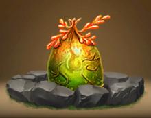 Leafy Snaptrapper Egg