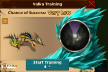 Hookfang's Offspring Valka First Chance