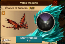 Terrible Terror Valka First Chance