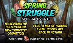 Spring struggle