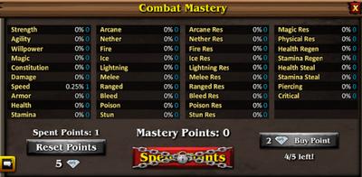 Combat Mastery