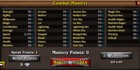 Combat Masteries