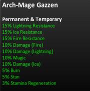 Arch-mage gazzenstats