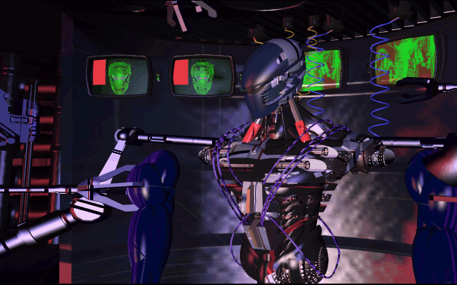 File:327145-rise-of-the-robots-dos-screenshot-cyborg-is-being-constructed.png